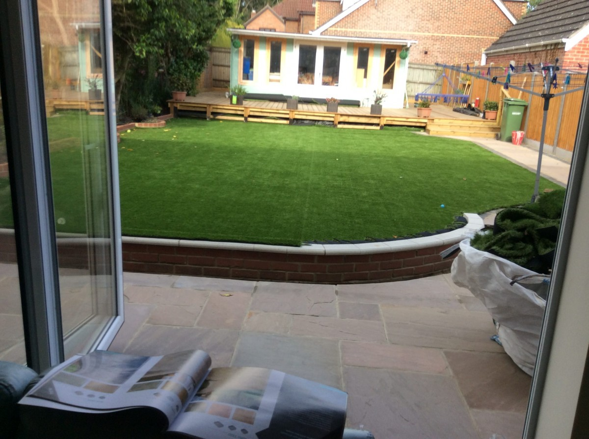 Patio and Garden Building - Hampshire Building Services
